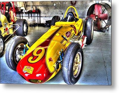 1963 Eddie Sachs Indy Car Metal Print
