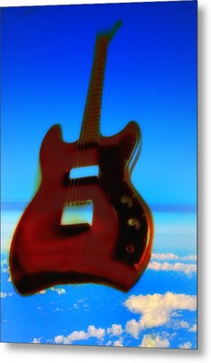 1963 Guild Jet Star Metal Print by Bill Cannon