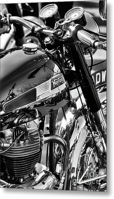 Metal Print featuring the photograph 1964 Norton Atlas by Tim Gainey