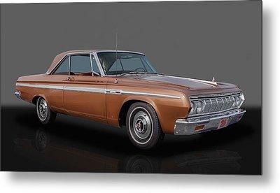 1964 Plymouth Sport Fury - 383 4-speed Metal Print