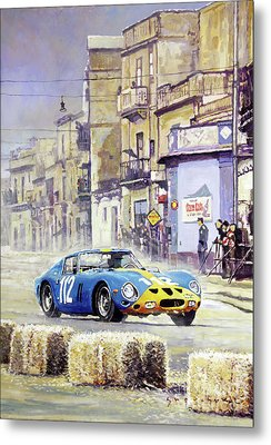 1964 Targa Florio Ferrari 250 Gto Metal Print by Yuriy Shevchuk