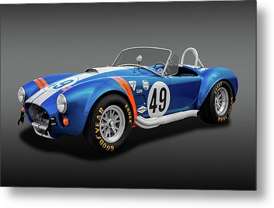 Metal Print featuring the photograph 1966 427 Shelby Cobra  -  1966427shelbycobrafa170660 by Frank J Benz