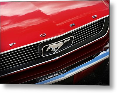 Metal Print featuring the photograph 1966 Ford Mustang by Gordon Dean II