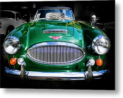 1967 Austin Healey 3000 Mk IIi Bj8 Metal Print by Jack R Perry