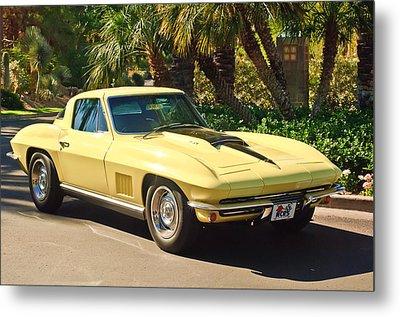 1967 Chevrolet Corvette Sport Coupe Metal Print by Jill Reger