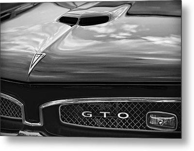 1967 Pontiac Gto Metal Print by Gordon Dean II