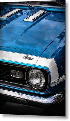 1968 Chevy Camaro Ss 396 Metal Print by Gordon Dean II
