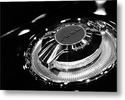 1968 Dodge Charger Fuel Cap Metal Print by Gordon Dean II