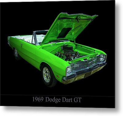 1969 Dodge Dart Metal Print