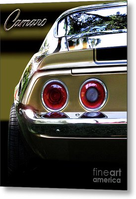 1970 Camaro Fat Ass Metal Print