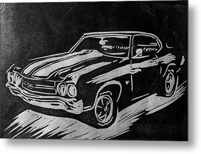1970 Chevelle Metal Print by Alisha Floy