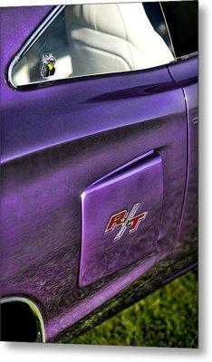 1970 Dodge Coronet Rt - Plum Crazy Purple Metal Print by Gordon Dean II