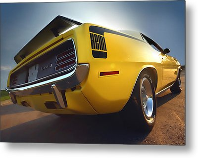 1970 Hemi 'cuda  Metal Print by Gordon Dean II