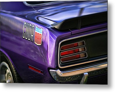 1970 Plymouth Aar Cuda Plum Crazy Purple Metal Print by Gordon Dean II