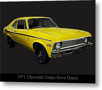 1971 Chevy Nova Yenko Deuce Metal Print by Chris Flees