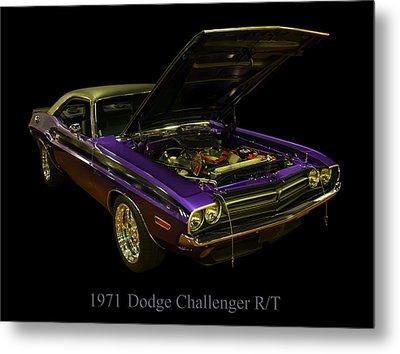 1971 Dodge Challenger Metal Print