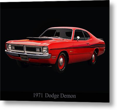1971 Dodge Demon Metal Print