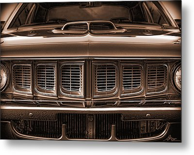1971 Plymouth 'cuda 440 Metal Print by Gordon Dean II