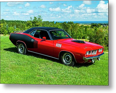 1971 Plymouth Metal Print by Performance Image