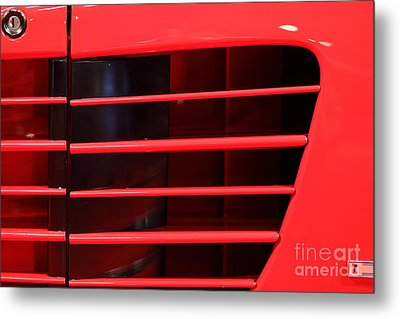 1986 Ferrari Testarossa - 5d20024 Metal Print by Home Decor