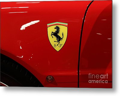 1986 Ferrari Testarossa - 5d20025 Metal Print by Home Decor