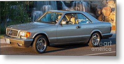 1986 Mercedes 560 Sec Metal Print