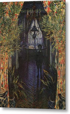 A Corner Of The Apartment Metal Print by Claude Monet