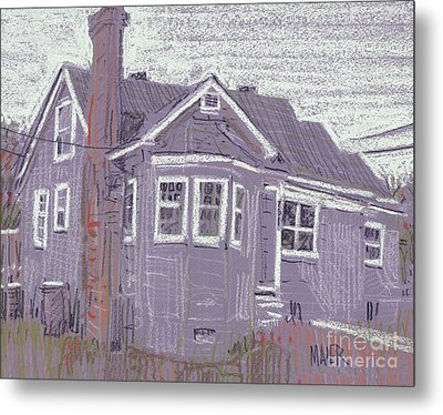Abandoned House Metal Print by Donald Maier