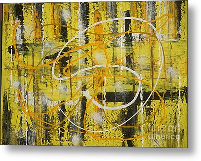 Abstract_untitled Metal Print