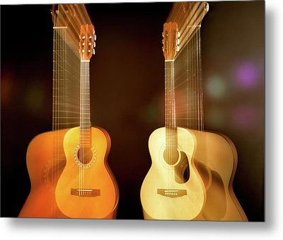Acoustic Overtone Metal Print by Leland D Howard