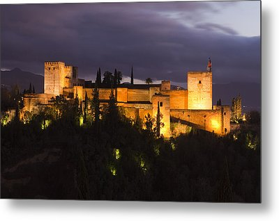 Alhambra Metal Print by Andre Goncalves