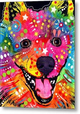 American Eskimo Dog Metal Print by Dean Russo