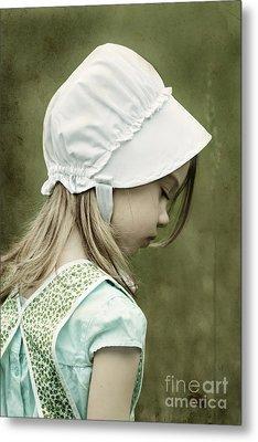 Amish Child Metal Print by Stephanie Frey