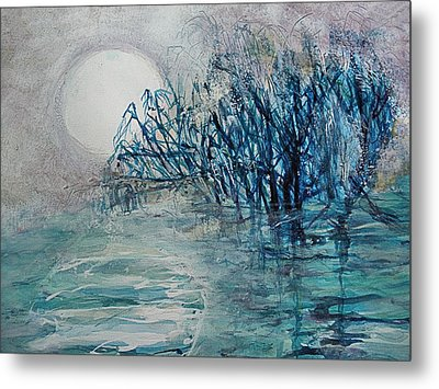 another  Moon river Metal Print by Mary Sonya  Conti