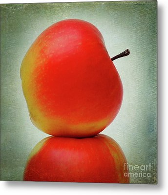 Apples Metal Print by Bernard Jaubert