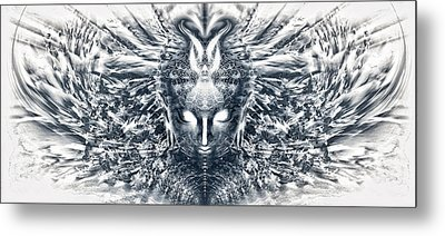 Ascended Grace Metal Print by Jalai Lama
