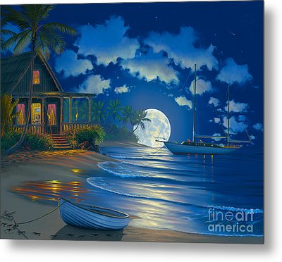 South Seas Paradise Metal Print