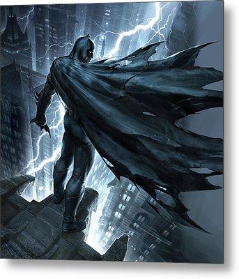 Batman The Dark Knight Returns 2012 Metal Print by Unknown