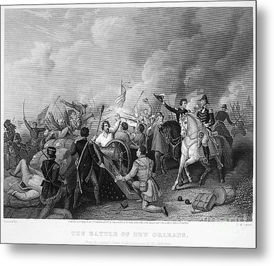 Battle Of New Orleans Metal Print by Granger
