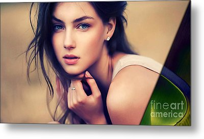Beauty Collection Metal Print