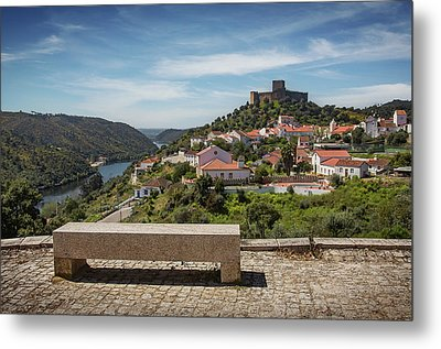 Metal Print featuring the photograph Belver Landscape by Carlos Caetano