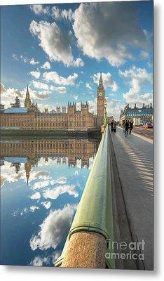 Big Ben London Metal Print by Adrian Evans