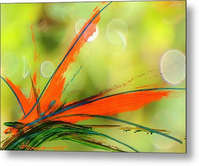 Bird Of Paradise 2 Metal Print