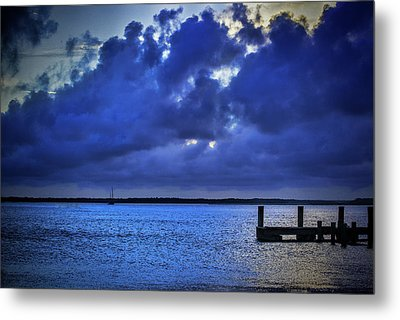 Blue Sunset Metal Print by Dave Bosse