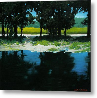 Boat Launch Metal Print by Kevin Lawrence Leveque
