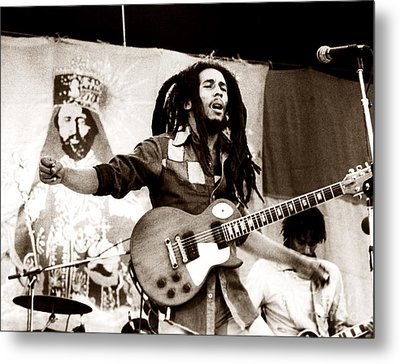 Bob Marley 1979 Metal Print by Chris Walter
