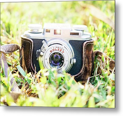 Bolsey B Rangefinder Camera Metal Print by Jon Woodhams