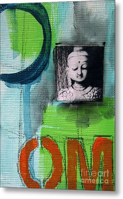 Buddha Metal Print by Linda Woods