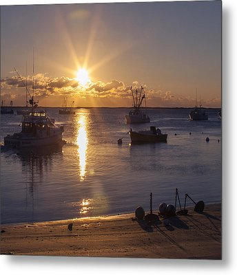 Metal Print featuring the photograph Chatham Sunrise by Charles Harden