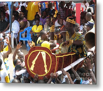 Metal Print featuring the photograph Chiefs On Parade by Erik Falkensteen
